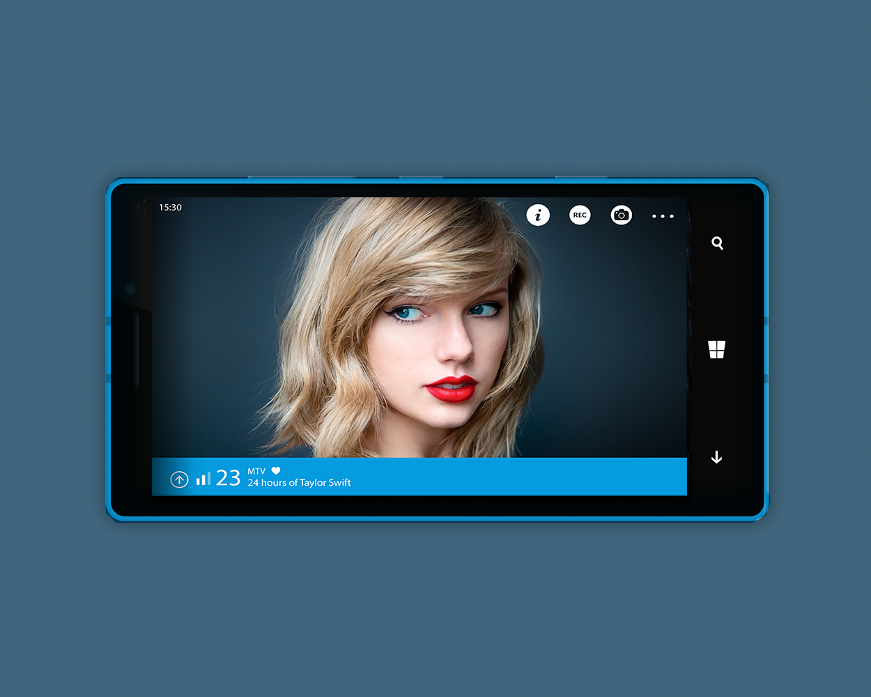 Digital TV App for Windows Phone