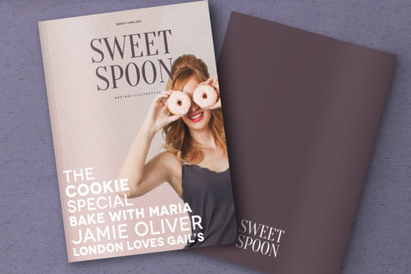 Sweet Spoon Magazine Cover and Back